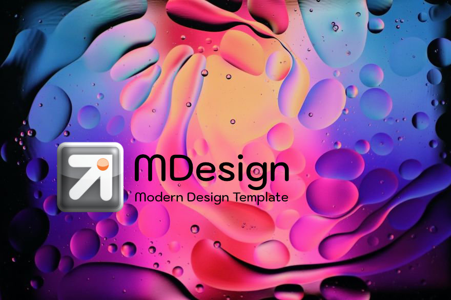 MDesign WordPress Template